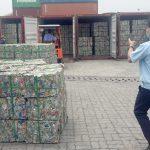 60 tấn phế liệu nguỵ trang thức ăn gia súc xuất khẩu sang Hàn Quốc